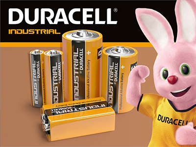 Industrial by Duracell Batteries