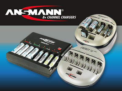 Ansmann 8+ Battery Chargers