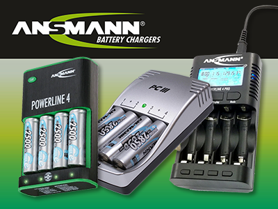 Ansmann Battery Chargers