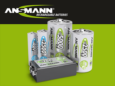 Ansmann Rechargeable Batteries