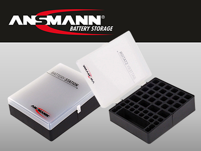 Ansmann Battery Storage box