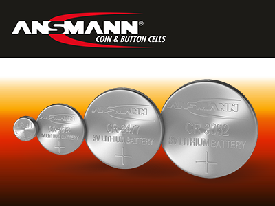 Ansmann Coin and Button Cell Batteries