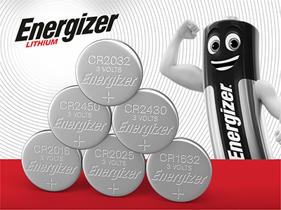 Energizer Coin & Button Cell Batteries