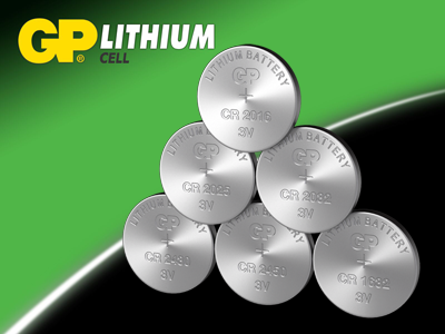 GP Coin & Button Cell Batteries