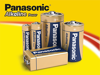 Panasonic Alkaline Power Batteries