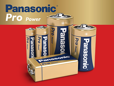 Panasonic Pro Power Batteries