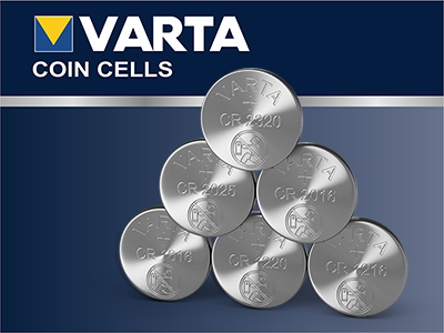 Varta Coin & Button Cell Batteries