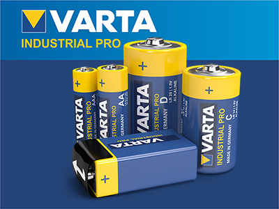 Varta Industrial Pro Batteries