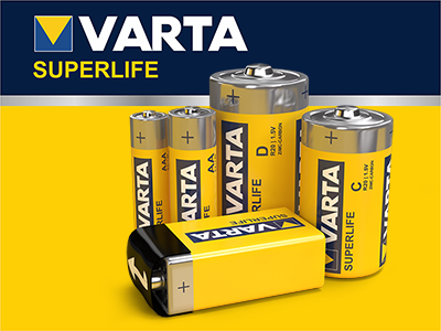 Varta Superlife Batteries